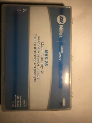 Miller Weldcraft Tig Torch Starter Kit Mak-2s