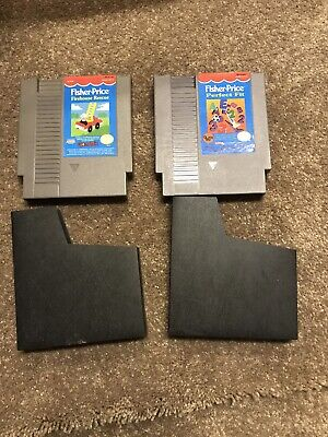 Authentic Original Nintendo NES Fisher Price Firehouse Rescue Perfect Fit Sleeve