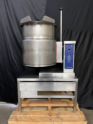 Cleveland Ket-12-t  Electric Tilting Jacketed Steam Kettle - Free Shipping