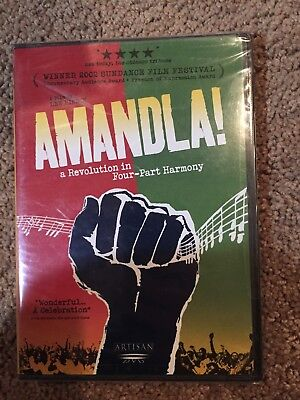 DVD332 AMANDLA! A REVOLUTION IN FOUR-PART HARMONY GET IT FAST ~ US