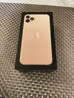 iphone 11 pro max Gold unlocked 256gb used ( No Reserve )