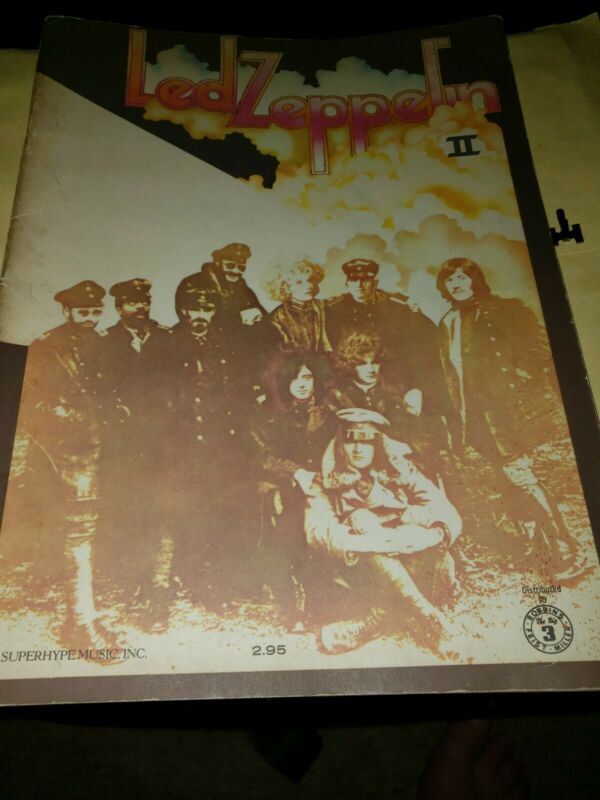 LED ZEPPELIN 2 SONG BOOK