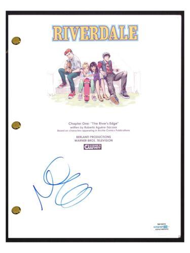 Marisol Nichols Signed Autographed RIVERDALE Pilot Script Screenplay ACOA COA