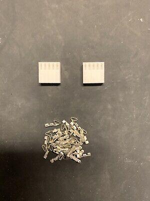 5 Pin Molex Connector Kit 22-26 Awg .100 Pins Arcade Pinball