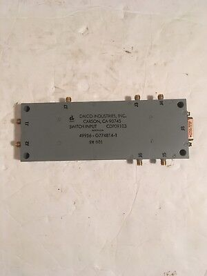 Daico Industries Switch Input Rf Cdp09103 D45cell