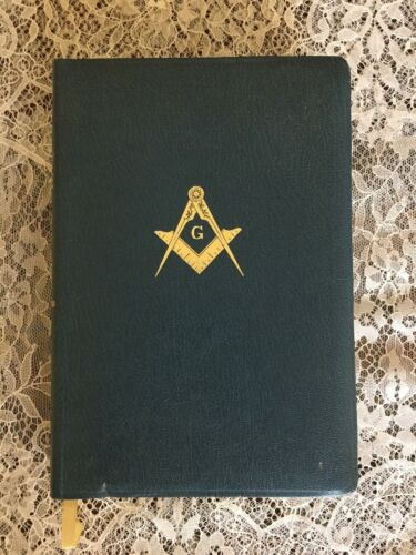 HOLY BIBLE 1968 Temple Illustrated Edition in Masonry