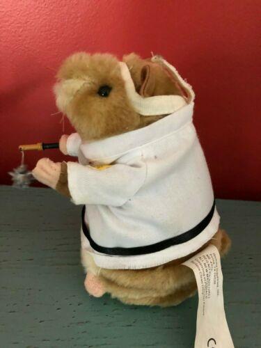 Dancing Singing Hamster Gemmy Karate Kung Foo Fighting Swinging Star NICE!