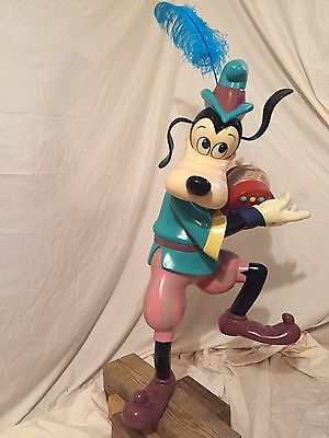 3D Goofy from Music Shop - Vintage Disney Store Display Prop RARE!