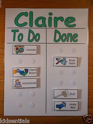 Chore Chart To Do List with Chores ...