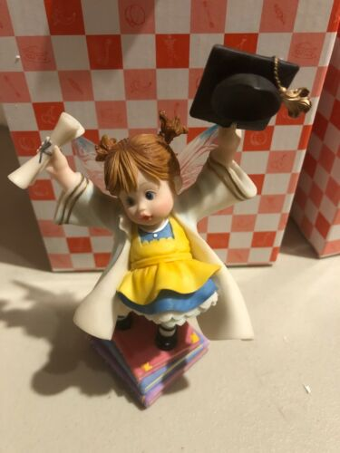 Enesco My Little Kitchen Fairies 4013471 Graduation Fairie New w Box