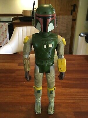 "Vintage Star Wars 1979 Kenner Boba Fett 12"" inch tall action figure"