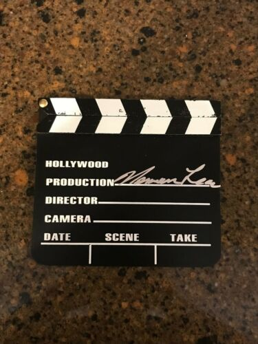 * NORMAN LEAR * signed director clapboard * ALL IN THE FAMILY * PROOF * 2