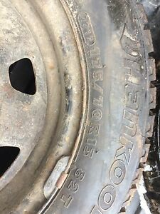 175/70r13 Hankook Ipike winter tires
