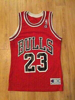 Michael Jordan 1993 Chicago Bulls NBA Finals Champion Jersey 36 - Chicago Bulls Nba Finals