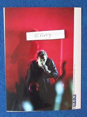 "Original Press Photo - 8""x6"" - Coldplay - Chris Martin - 2005 - G"