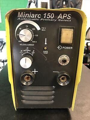 Esab Miniarc 150 Aps Sticktig Welder Cleaned And Tested