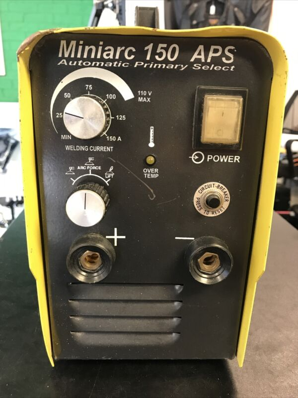 ESAB MINIARC 150 APS STICK/TIG WELDER (CLEANED AND TESTED!!!)