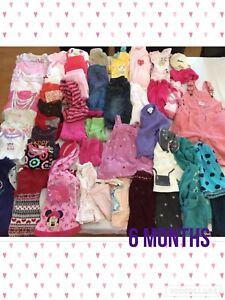 Girls 6 months clothing lot.