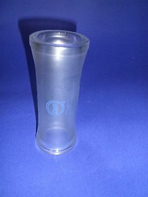 Qvf Flat Flange Pipe Ps50300 Implosion Protection Dn50 Length 11 1316in Glas