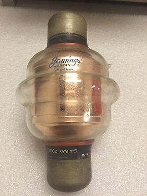Capacitor Vacuum Fixed Jennings Mc-1000