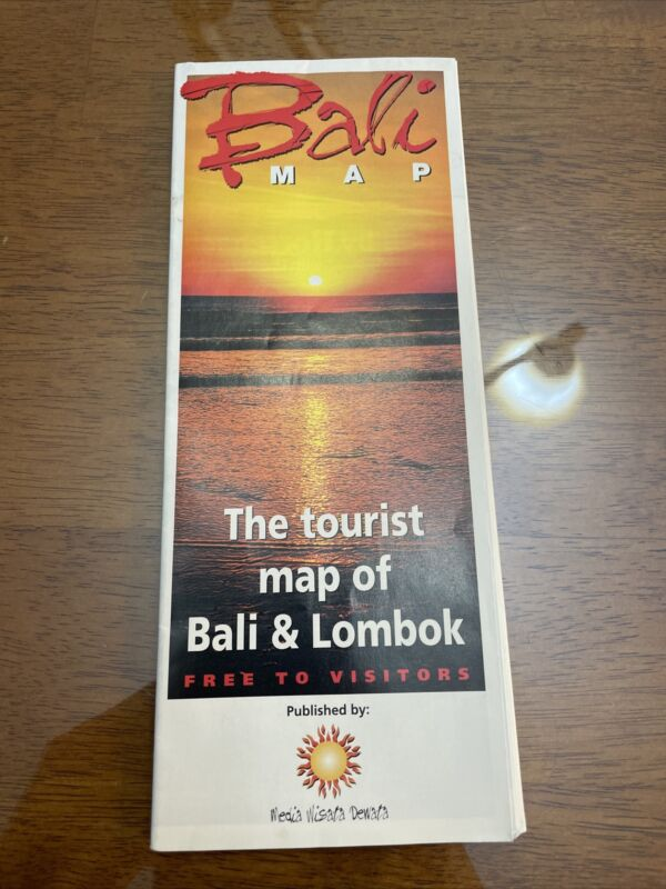 Bali And Lombok Indonesia Map
