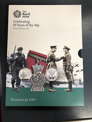 50 Years Of The 50p Proof Military Set