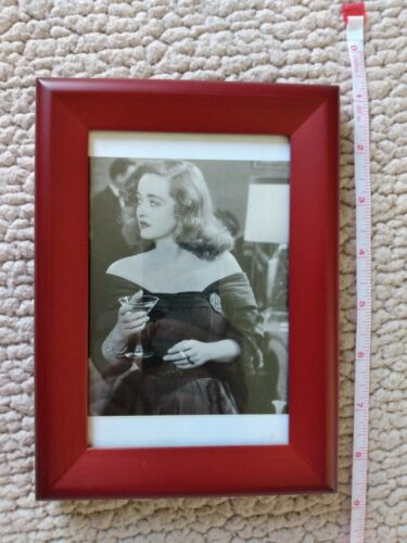 Bette Davis Framed Magazine Picture Black N White 8X6 All About Eve. - $12.88