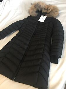Moncler jacket size 2 women black color