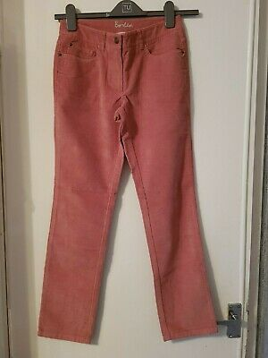 Mid rise straight leg cords by boden size 6 R wc153