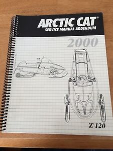 2000 Arctic Cat Z120 Service Manual Addendum