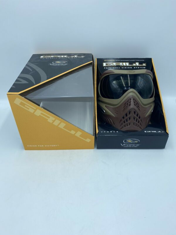 Vforce Grill Grillz Thermal Paintball Mask - Falcon - New