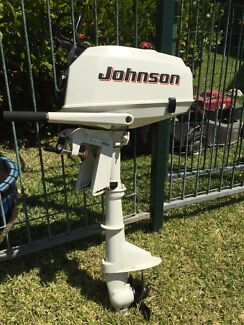 Outboard Motor -  Johnson 3.5 HP Coorparoo Brisbane South East Preview