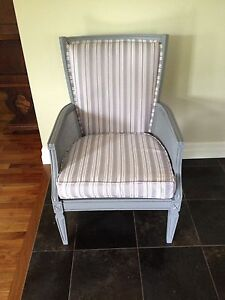 Gray Occasional Chair