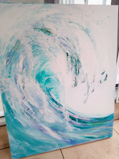 Art wave picture