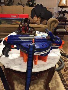 Hail-Fire Nerf Gun