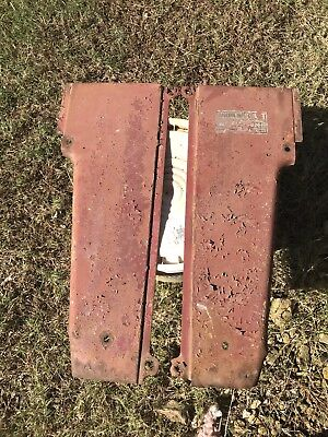 Farmall Ih 450 Diesel Set Radiator Side Panels