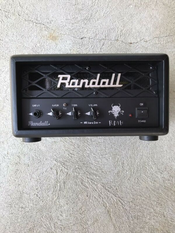 Randall Diavlo RD1 Fortin Designed 1 Watt Amp Head Black