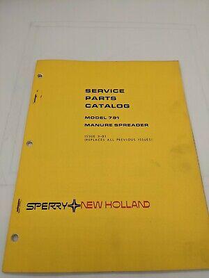 New Holland Service Parts Catalog Model 791 Manure Spreader 3-81