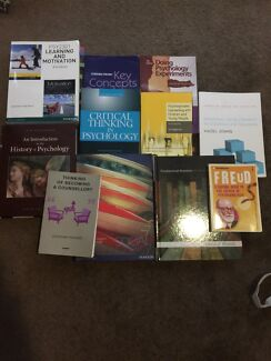 PSYCHOLOGY TEXTBOOKS Mindarie Wanneroo Area Preview