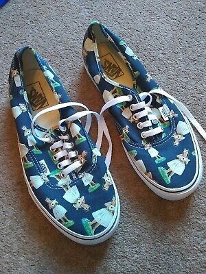 mens vans shoes super condition uk 8