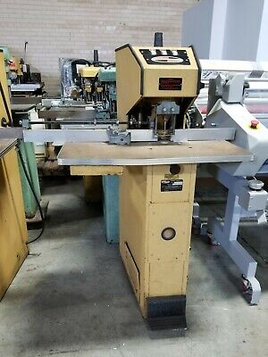 Challenge Rh Single Head Paper Drill Hydraulic - Used