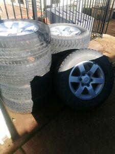 Toyota Hilux / Prado wheels 17''