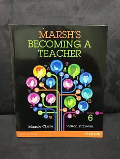 Marsh's Becoming a Teacher Text book