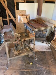Table Saw and Jointer $75 obo
