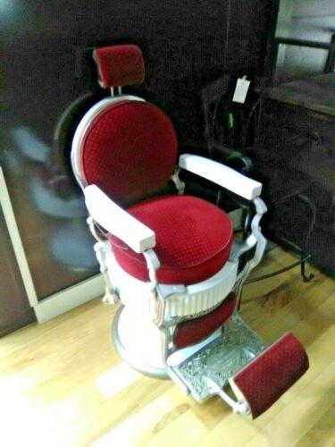 Vintage Koken Presidential Barber Chair