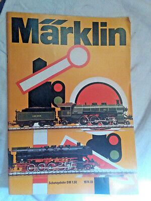 Modellbau-Eisenbahn: Märklin - Katalog 1974