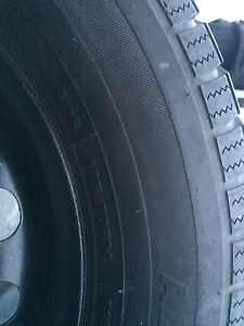 185/70R14 Tires with Steels 4x100