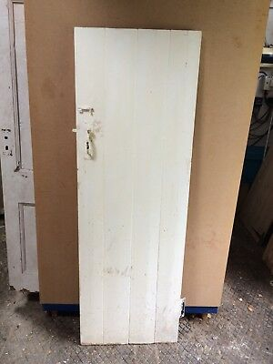 "Reclaimed Ledged Plank / Cottage Type Door 72 1/2"" X 24 3/4"""
