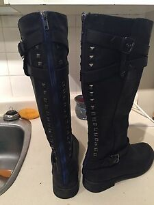 Knee high boots for sale
