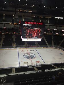 ***Edmonton Oiler Tickets For Sale***
